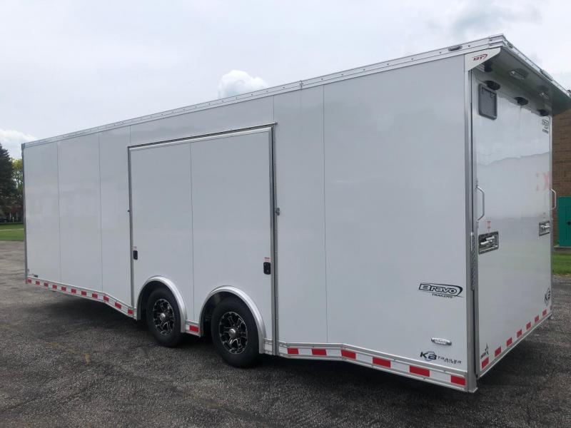 2020 Bravo Trailers Aluminum auto performance 24 Car / Racing Trailer