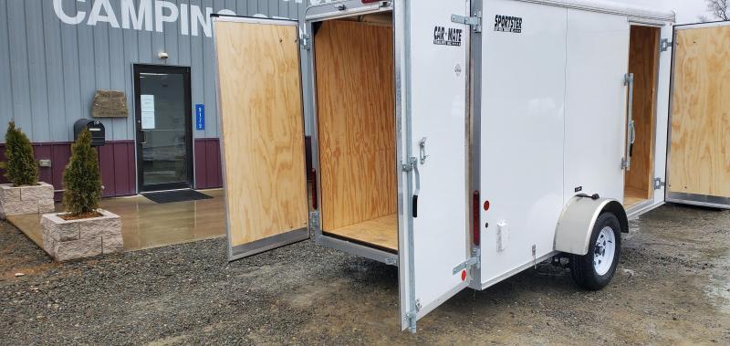 2021 Car Mate Trailers CM612LS Enclosed Cargo Trailer