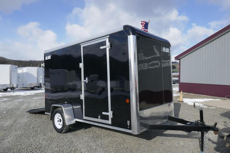 2019 Car Mate Trailers CM612CC -6W Single Axle Custom Cargo Trailer Enclosed Cargo Trailer