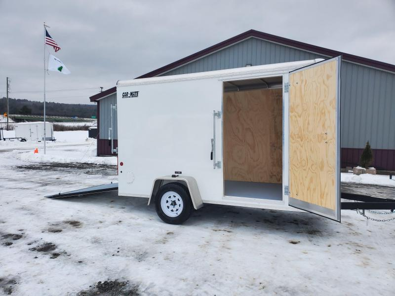 2021 Car Mate Trailers CM612CC -6'W Single Axle Custom Cargo Trailer Enclosed Cargo Trailer
