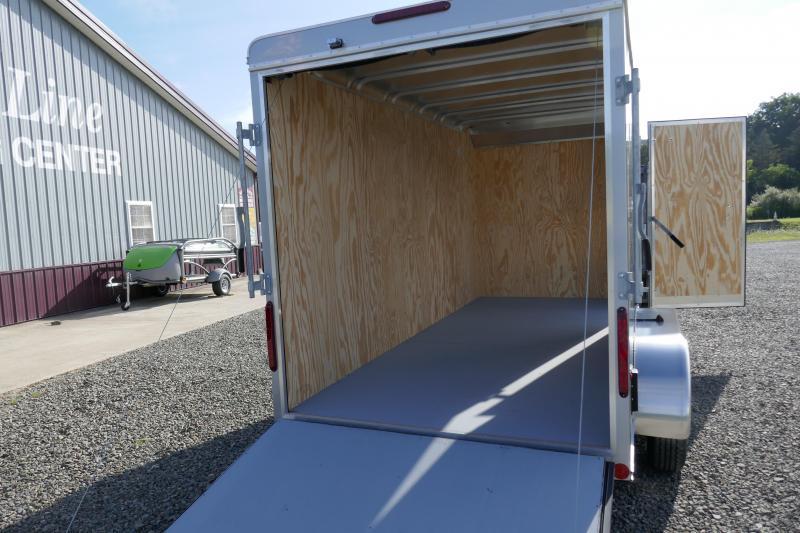 """2020 Car Mate Trailers CM614CC-HD -6"""" Add Height 6'W Tandem Axle Custom Cargo Trailer Enclosed Cargo Trailer"""