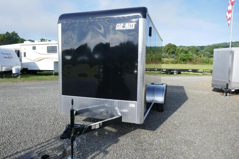 "2020 Car Mate Trailers CM614CC-HD -6"" Add Height 6'W Tandem Axle Custom Cargo Trailer Enclosed Cargo Trailer"