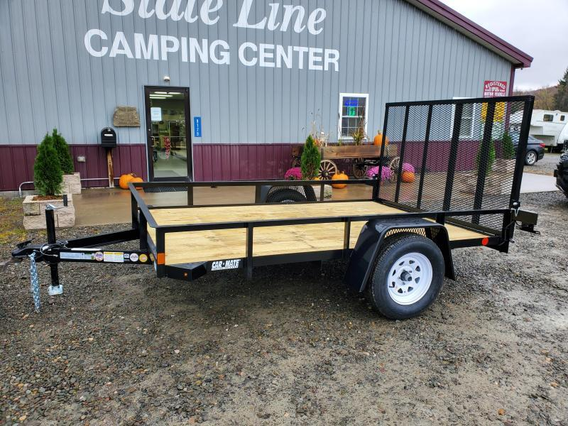 2021 Car Mate Trailers CM610A/W Single Axle Utility Trailer