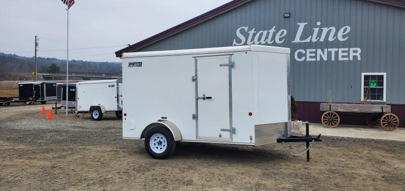 2021 Car Mate Trailers CM610LS Enclosed Cargo Trailer
