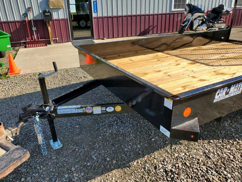 2020 Car Mate Trailers CM612SST/W Single Axle Utility Trailer