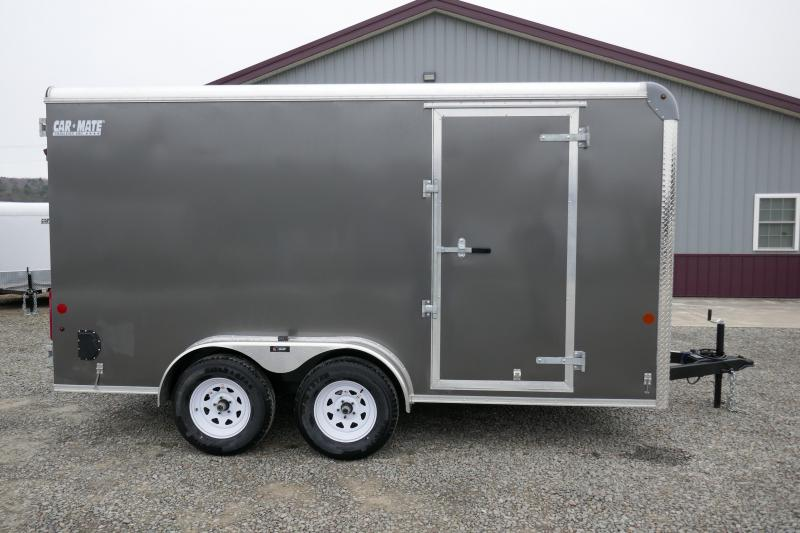 2020 Car Mate Trailers CM714CC-HD - 7'W Tandem Axle Custom Cargo Trailer Enclosed