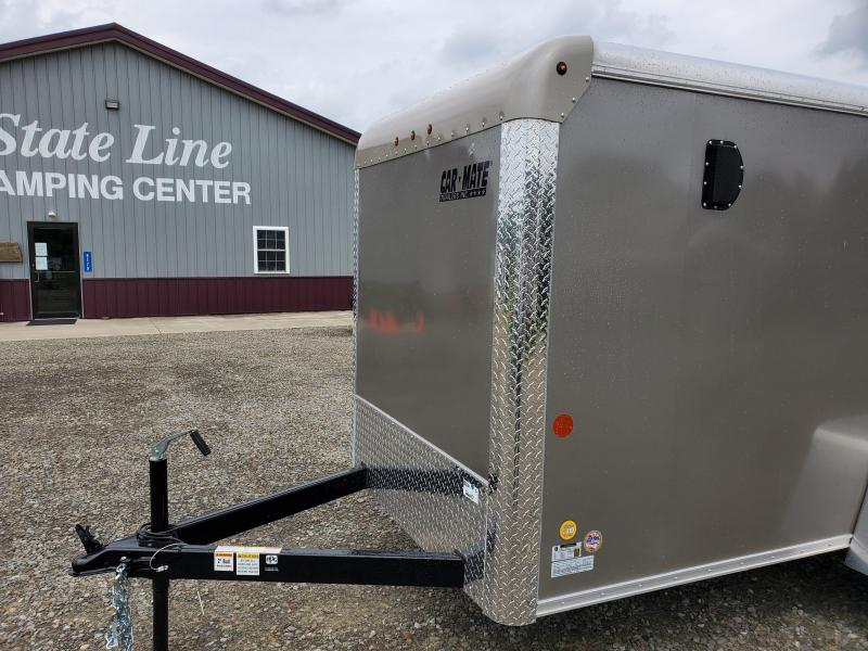 2020 Car Mate Trailers CM510CC - 5'W Single Axle Custom Cargo Trailer Enclosed Cargo Trailer