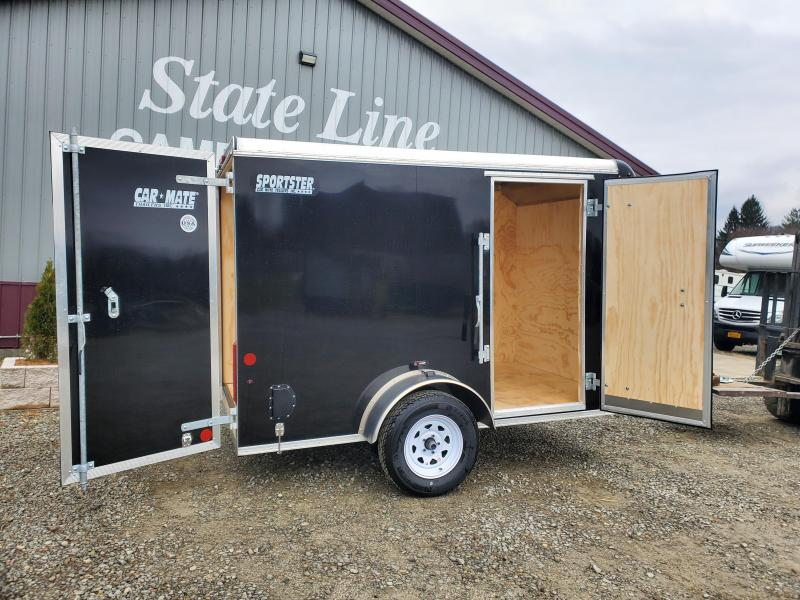 2021 Car Mate Trailers CM610EC Single Axle Enclosed Cargo Trailer