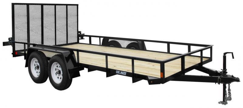 2021 Car Mate Trailers CM618A-HD/W Utility Trailer