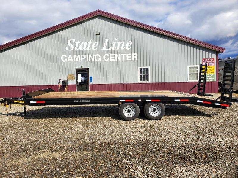 2021 Pequea TRHD18 Equipment Trailer