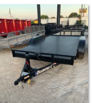 2018 Diamond C Trailers RCS Flatbed Trailer