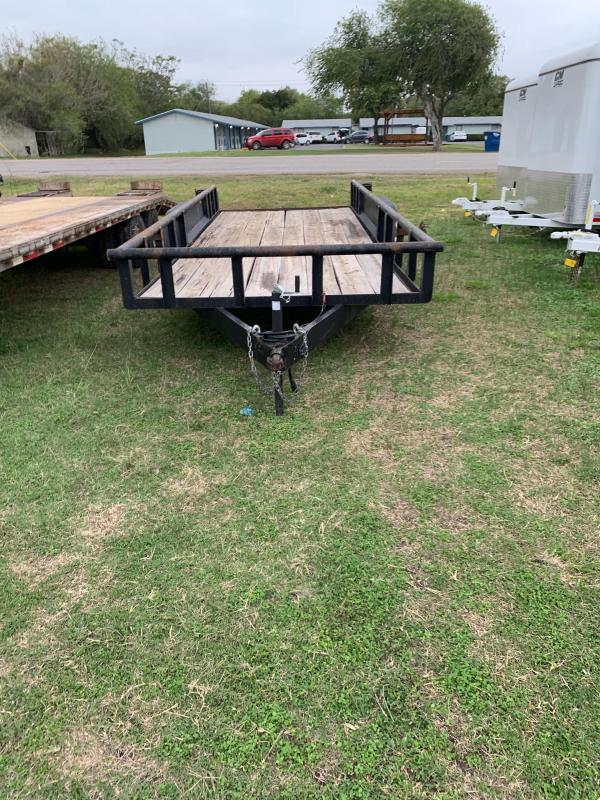 2005 USED Homemade HMDE Utility Trailer