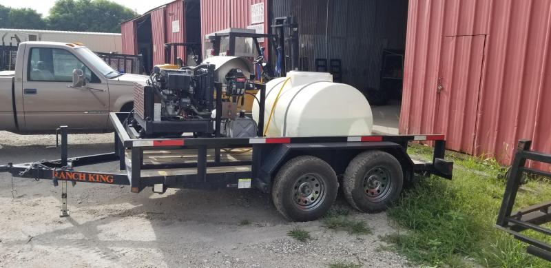 2016 DIESEL POWERED PRESSURE WASHER Other Trailer
