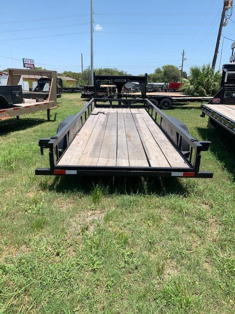 1985 Goose neck Utility with side rails