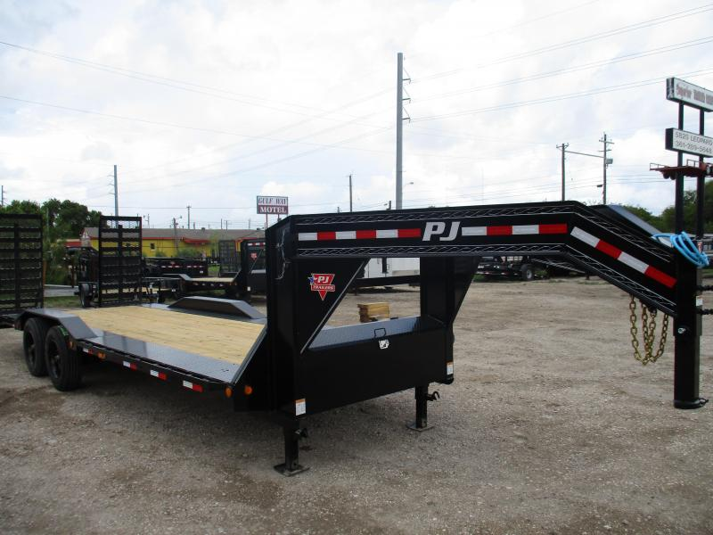 2021 PJ Trailers H7242 Equipment Trailer