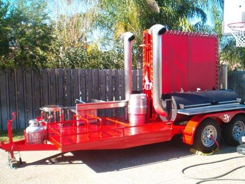 2006 Homemade Custom BBQ competion trailer Other Trailer