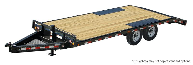 2021 PJ Trailers 26'x8 I-Beam Deckover Other