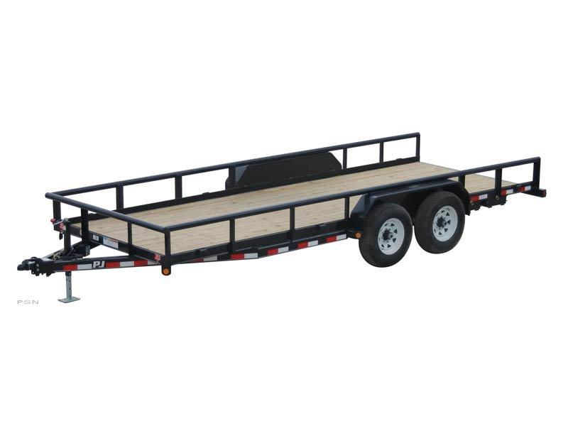 2021 PJ Trailers Angle Pipetop (P8) Utility Trailer