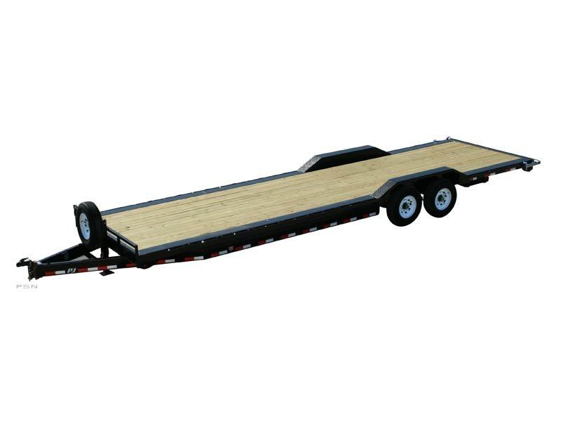 2021 PJ Trailers 8 in. Channel Super-Wide (B8) Car / Racing Trailer