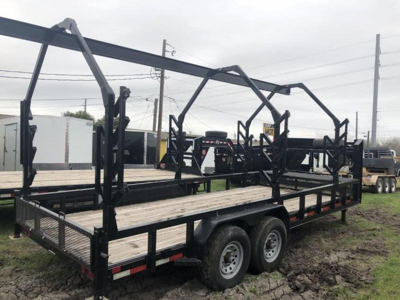 2014 Diamond C Trailers 16EDUL Flatbed Trailer