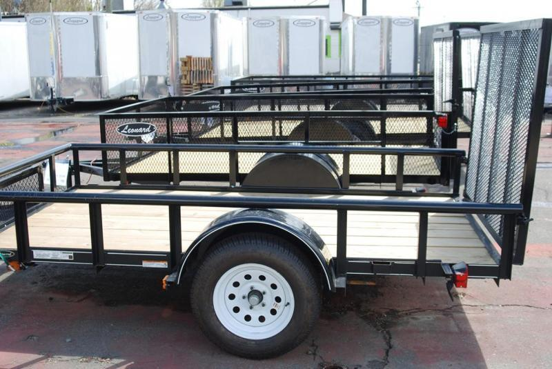 Get Ready For Spring 5 X 10 Utility Trailer With Tongue Box And 48 Ramp Gate North Carolina Trailer Classifieds Find Cargo Enclosed Trailers Flatbed Trailers And Horse Trailers For