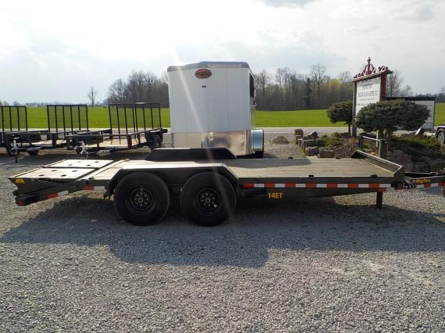 2020 Big Tex Trailers 14ET-18BK MR Equipment Trailer **USED**