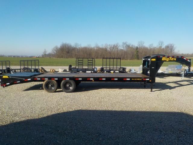 2022 Big Tex Trailers 14GN-20BK+5MR Equipment Trailer