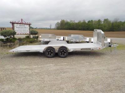 2021 Aluma 8218 ANV-TILT-TA-EL-RTD Car / Racing Trailer
