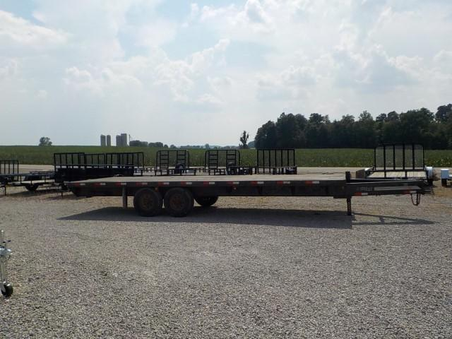 2005 Titan Trailers 24FT FLATBED Equipment Trailer