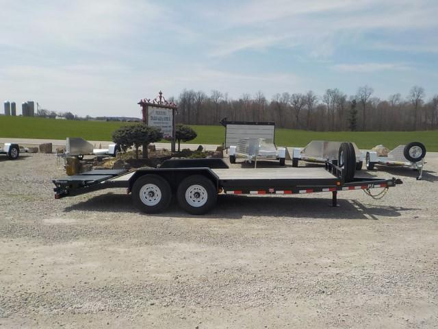 2020 PJ Trailers CCJ1892BS50B-ST06 6'' CHANNEL Equipment Trailer