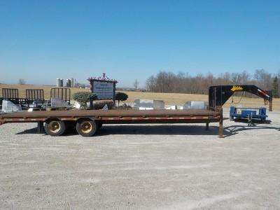 2014 Belshe DT256-2EP Equipment Trailer **USED**