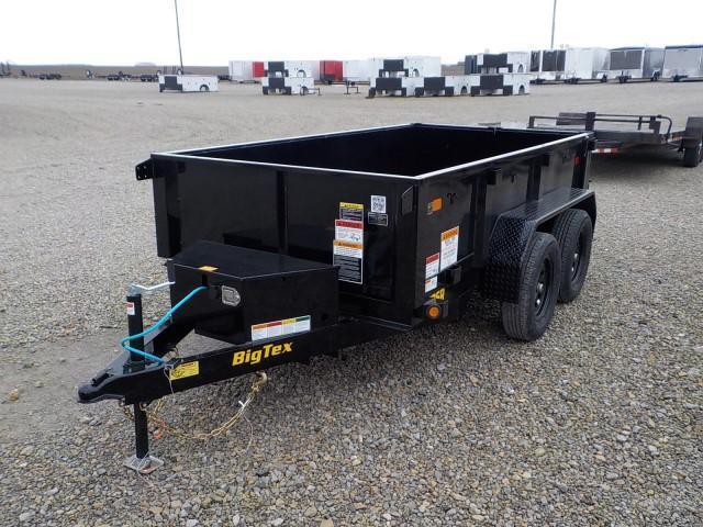 2021 Big Tex Trailers 70SR - 10 - 5 WDD BK Dump Trailer