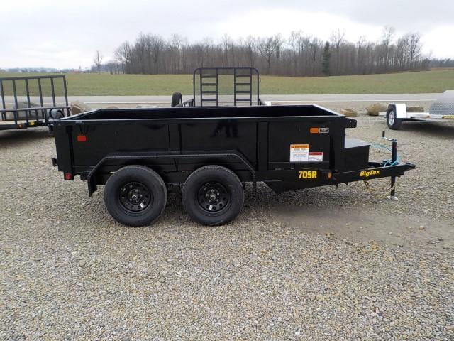 2021 Big Tex Trailers 70SR - 10 - 5 WDD BK Dump Trailer