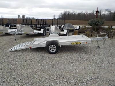 2021 Aluma 6810 S-TG-LW Utility Trailer