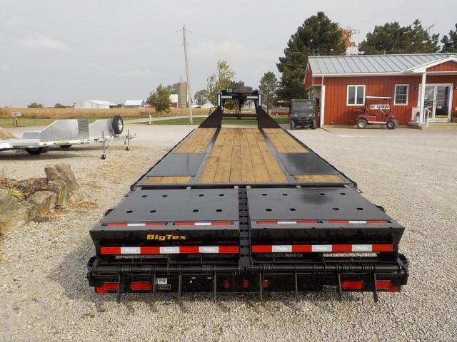 2021 Big Tex Trailers 25GN-HD 25-BK + 5 MEGA RAMP Equipment Trailer