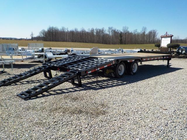 2014 Belshe DT -255 2AP Equipment Trailer **USED**