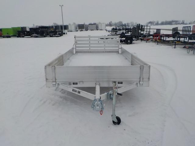 2022 Aluma 8114 BT-SR Utility Trailer