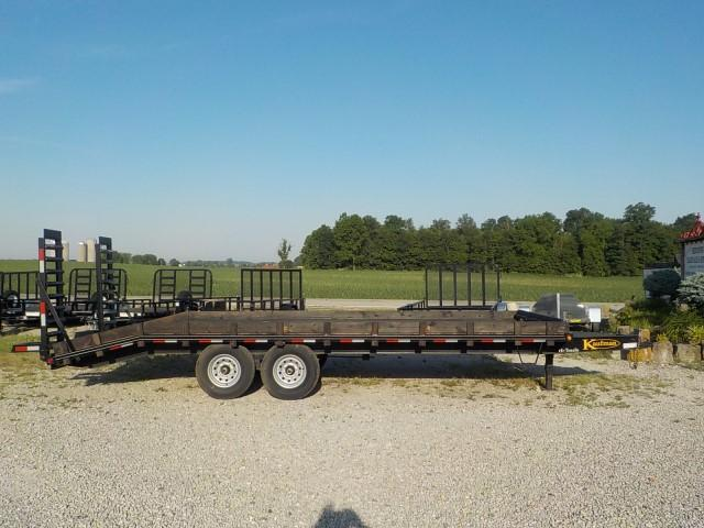 2014 Kaufman Trailers 8.5X18'+4' DECKOVER Equipment Trailer