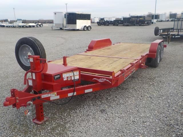 2021 Trailerman Trailers Inc. T83166CT-B-160 CUSHION TILT Equipment Trailer