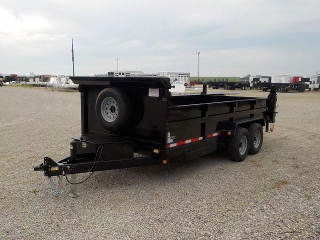 2021 Quality Steel and Aluminum 8316D 14K Dump Trailer