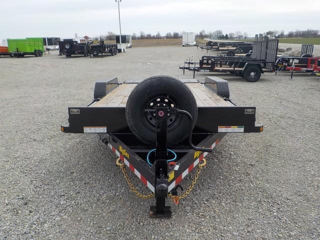 2022 Big Tex Trailers 14ET-18BK MR Equipment Trailer