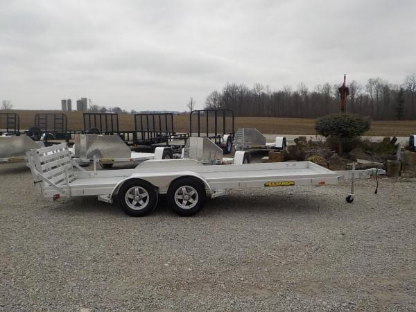 2021 Aluma 6316-TA-BT-LW Utility Trailer