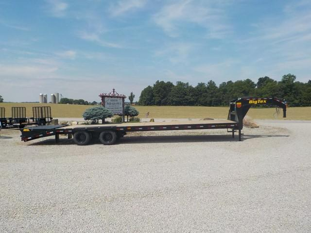 2022 Big Tex Trailers 22GN-28 BK +5 MR Equipment Trailer