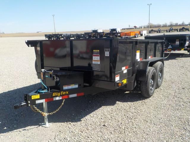 2021 Big Tex Trailers 10SR-12XL-BK7SIR Dump Trailer