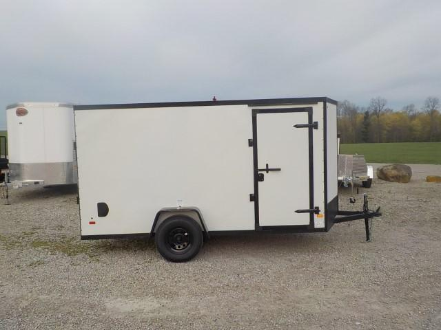 2022 Haulin Trailers HLAFT612SA FLAT TOP V-NOSE Enclosed Cargo Trailer