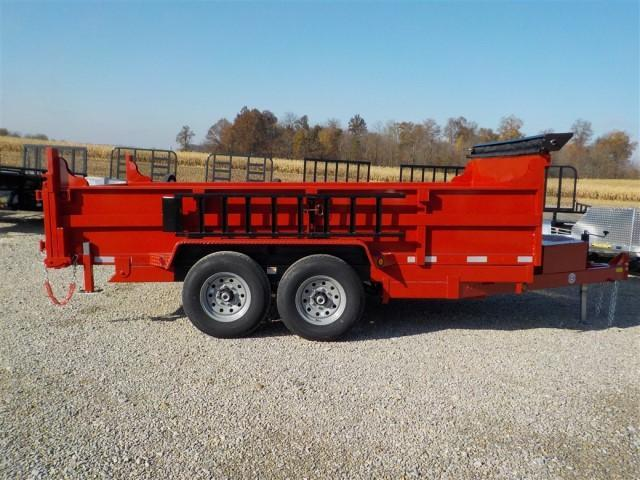 2020 Quality Steel and Aluminum 8314D 14K Dump Trailer **USED**