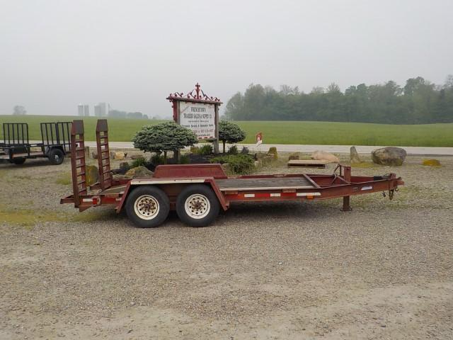 1998 Other 8.5' X 14' CFB Equipment Trailer