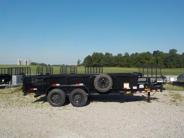 2021 Big Tex Trailers 16LP-16BK7SIRPD Dump Trailer