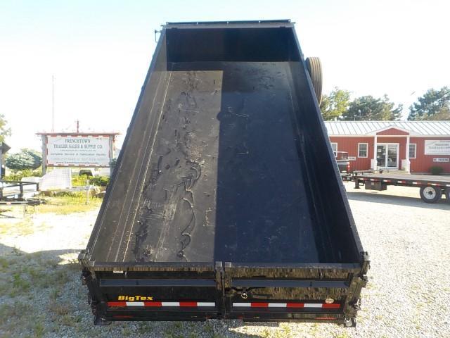 2021 Big Tex Trailers 16LP-16BK7SIRPD Dump Trailer