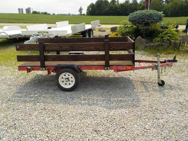 2005 Homemade UT 4 x 8 Utility Trailer **USED**